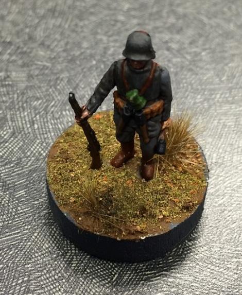 German soldier figure by Kevin Cook