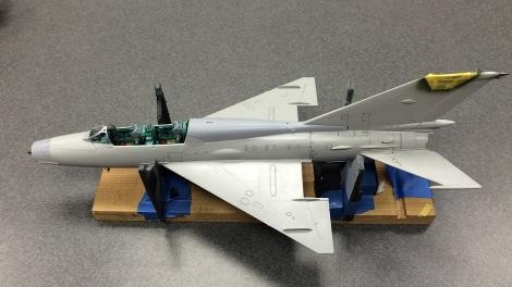 Tom Wingate's 1:32 MiG-21UM