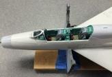 Close-up of MiG-21UM